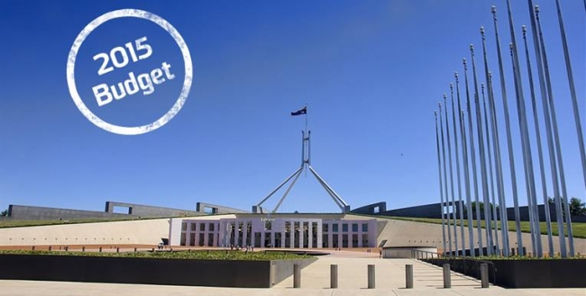 Parliament house photo regarding the 2015 budget for Aged Care