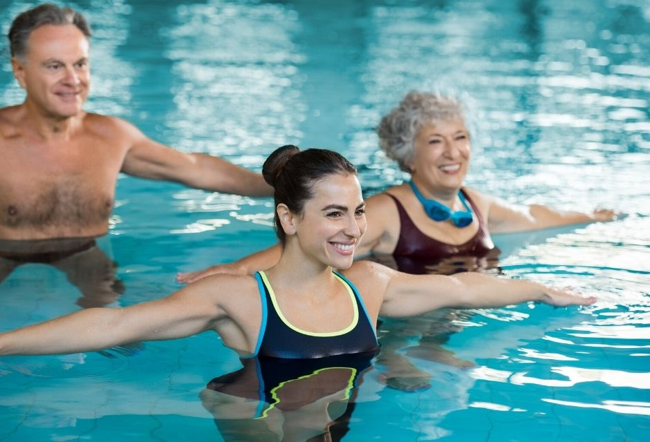 hydrotherapy class for seniors