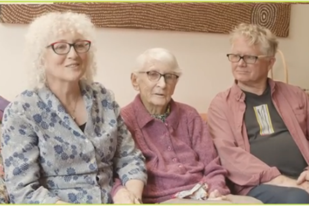Anne and her family - a 24 hour care client